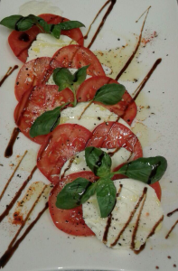 Hotel Life Palace restaurant mozarella with tomato