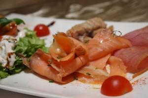Hotel Life Palace restaurant salmon