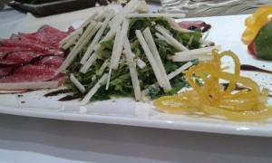 Hotel lifepalace beef carpacio